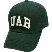 Top of the World Men's UAB Blazers Green Crew Adjustable Hat