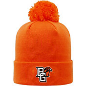 Top of the World Men's Bowling Green Falcons Orange Pom Knit Beanie