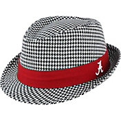 Top of the World Men's Alabama Crimson Tide Black/White Houndstooth Fedora
