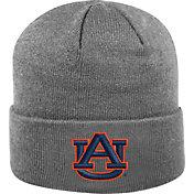Top of the World Men's Auburn Tigers Grey Cuff Knit Beanie