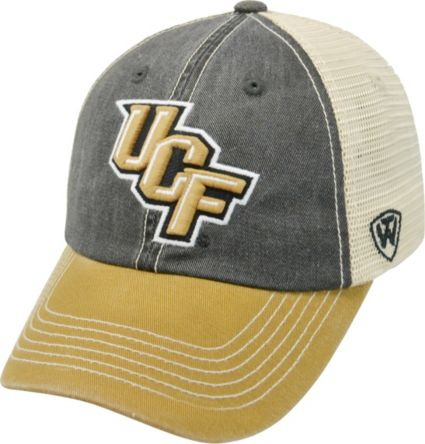 a83b985e769187 Top of the World Men's UCF Knights Black/Gold/White Off Road Adjustable Hat.  noImageFound