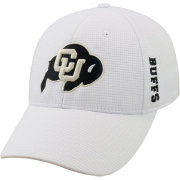 Top of the World Men's Colorado Buffaloes White Booster Plus 1Fit Flex Hat
