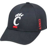 Top of the World Men's Cincinnati Bearcats Black Booster Plus 1Fit Flex Hat