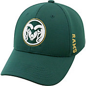 Top of the World Men's Colorado State Rams Green Booster Plus 1Fit Flex Hat