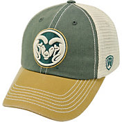 Top of the World Men's Colorado State Rams Green/Gold/White Off Road Adjustable Hat