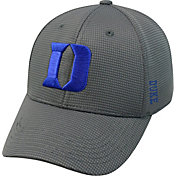 Top of the World Men's Duke Blue Devils Grey Booster Plus 1Fit Flex Hat