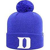 Top of the World Men's Duke Blue Devils Duke Blue Pom Knit Beanie