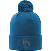 Top of the World Men's Delaware Fightin' Blue Hens Blue Pom Knit Beanie