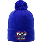 Top of the World Men's DePaul Blue Demons Royal Blue Pom Knit Beanie