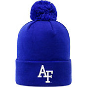 Top of the World Men's Air Force Falcons Blue Pom Knit Beanie