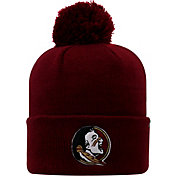 Top of the World Men's Florida State Seminoles Garnet Pom Knit Beanie