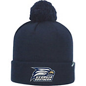 Top of the World Men's Georgia Southern Eagles Navy Pom Knit Beanie