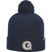 Top of the World Men's Georgetown Hoyas Blue Pom Knit Beanie