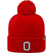 promo code f94e4 8a1af Product Image · OSU Men s Ohio State Buckeyes Scarlet Pom Knit Beanie