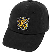 Top of the World Men's Kennesaw State Owls Black Crew Adjustable Hat