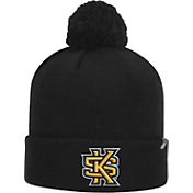 Top of the World Men's Kennesaw State Owls Gold Pom Knit Beanie