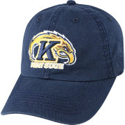 Top of the World Men's Kent State Golden Flashes Navy Blue Crew Adjustable Hat