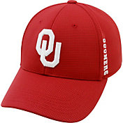 Product Image · Top of the World Men s Oklahoma Sooners Crimson Booster  Plus 1Fit Flex Hat d03a683135fe