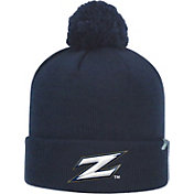 Top of the World Men's Akron Zips Navy Pom Knit Beanie