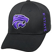 Top of the World Men's Kansas State Wildcats Black Booster Plus 1Fit Flex Hat