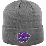 Top of the World Men's Kansas State Wildcats Grey Cuff Knit Beanie