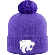Top of the World Men's Kansas State Wildcats Purple Pom Knit Beanie