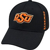 Top of the World Men's Oklahoma State Cowboys Black Booster Plus 1Fit Flex Hat