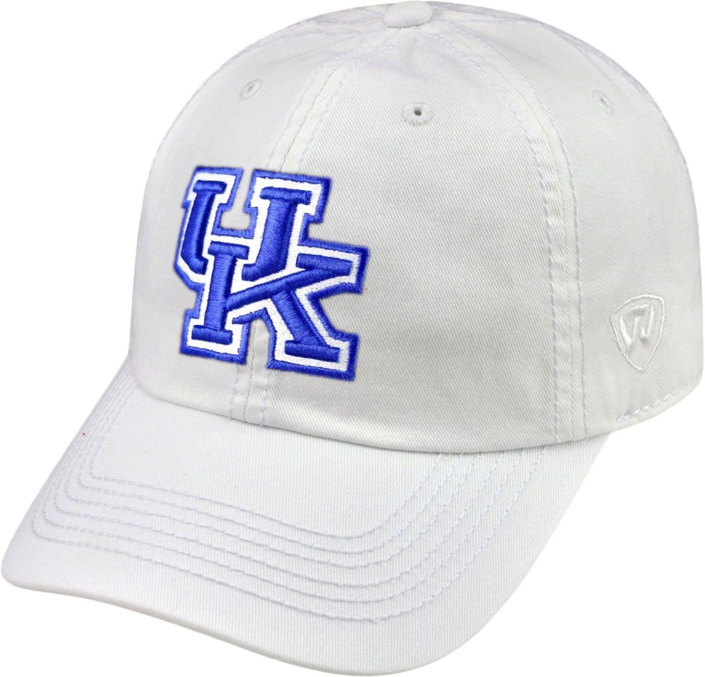 Top of the World Men's Kentucky Wildcats White Crew Hat