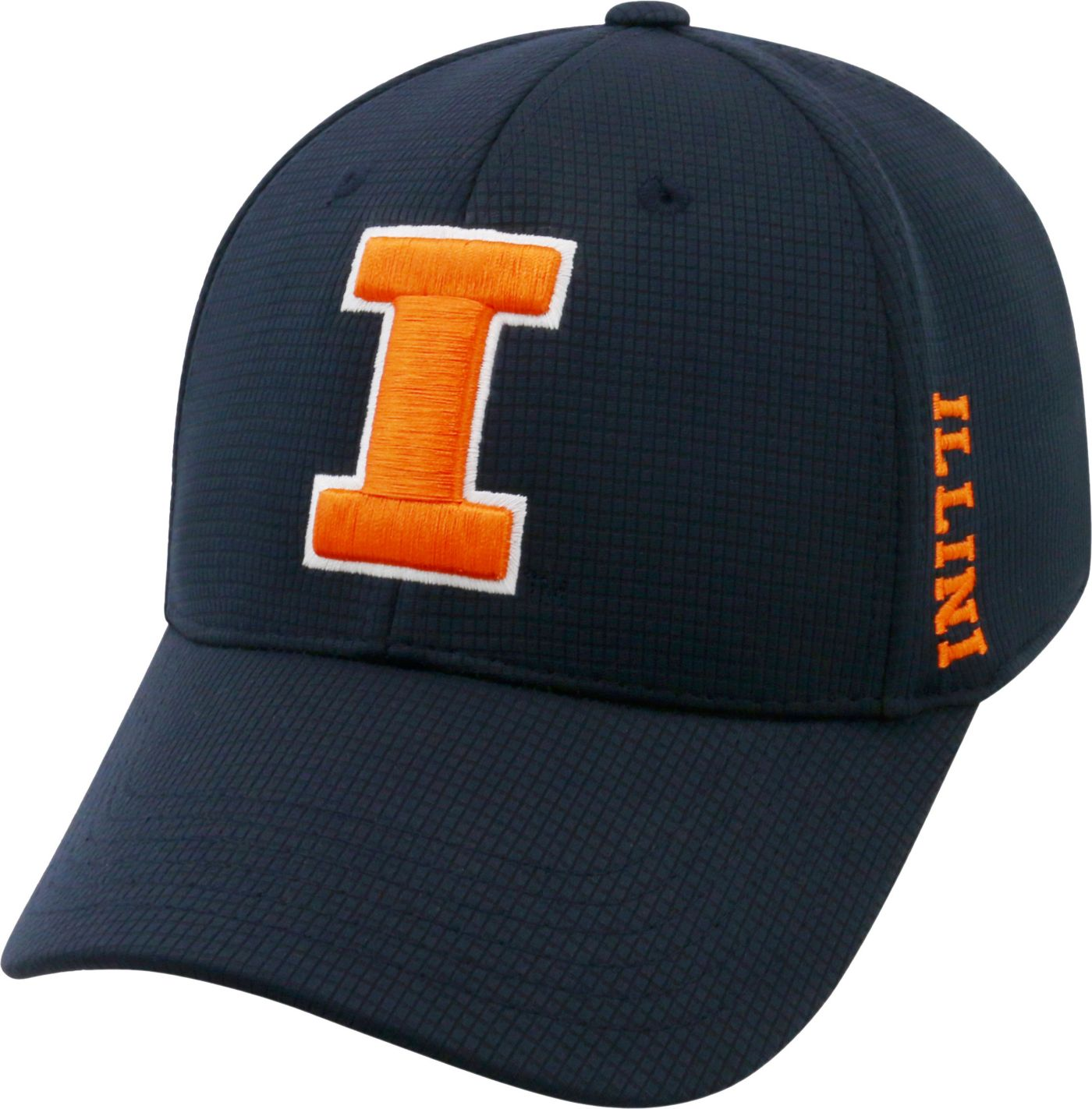Top of the World Men's Illinois Fighting Illini Blue Booster Plus 1Fit Flex Hat
