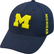 Top of the World Men's Michigan Wolverines Blue Booster Plus 1Fit Flex Hat