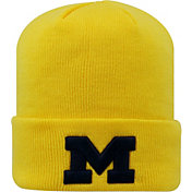 Top of the World Men's Michigan Wolverines Maize Cuff Knit Beanie