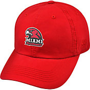Top of the World Men's Miami Redhawks Red Crew Adjustable Hat
