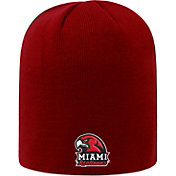 Top of the World Men's Miami RedHawks Red TOW Classic Knit Beanie