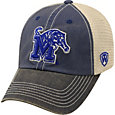 Top of the World Men's Memphis Tigers Blue/Grey/White Off Road Adjustable Hat