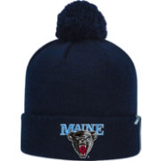 Top of the World Men's Maine Black Bears Blue Pom Knit Beanie