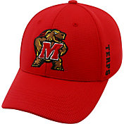 b019661460e94d Product Image · Top of the World Men's Maryland Terrapins Red Booster Plus  1Fit Flex Hat