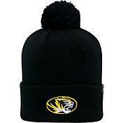 Top of the World Men's Missouri Tigers Black Pom Knit Beanie