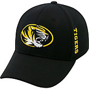 Top of the World Men's Missouri Tigers Black Booster Plus 1Fit Flex Hat