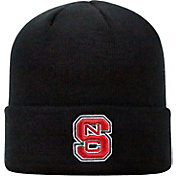 Top of the World Men's NC State Wolfpack Black Cuff Knit Beanie