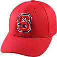 Top of the World Men's NC State Wolfpack Red Booster Plus 1Fit Flex Hat