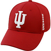 pretty nice 2cdd2 77c9f Product Image · Top of the World Men s Indiana Hoosiers Crimson Booster  Plus 1Fit Flex Hat