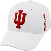 Top of the World Men's Indiana Hoosiers White Booster Plus 1Fit Flex Hat