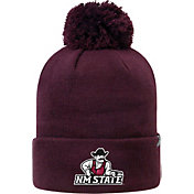 Top of the World Men's New Mexico State Aggies Crimson Pom Knit Beanie