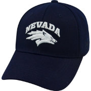 Top of the World Men's Nevada Wolf Pack Blue Premium Collection M-Fit Hat