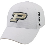 Top of the World Men's Purdue Boilermakers White Booster Plus 1Fit Flex Hat