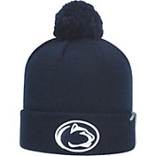 Top of the World Men's Penn State Nittany Lions Blue Pom Knit Beanie