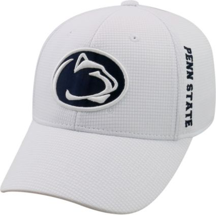 best service 29dea 8b298 Top of the World Men s Penn State Nittany Lions White Booster Plus 1Fit  Flex Hat