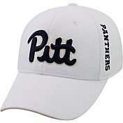 Top of the World Men's Pitt Panthers White Booster Plus 1Fit Flex Hat