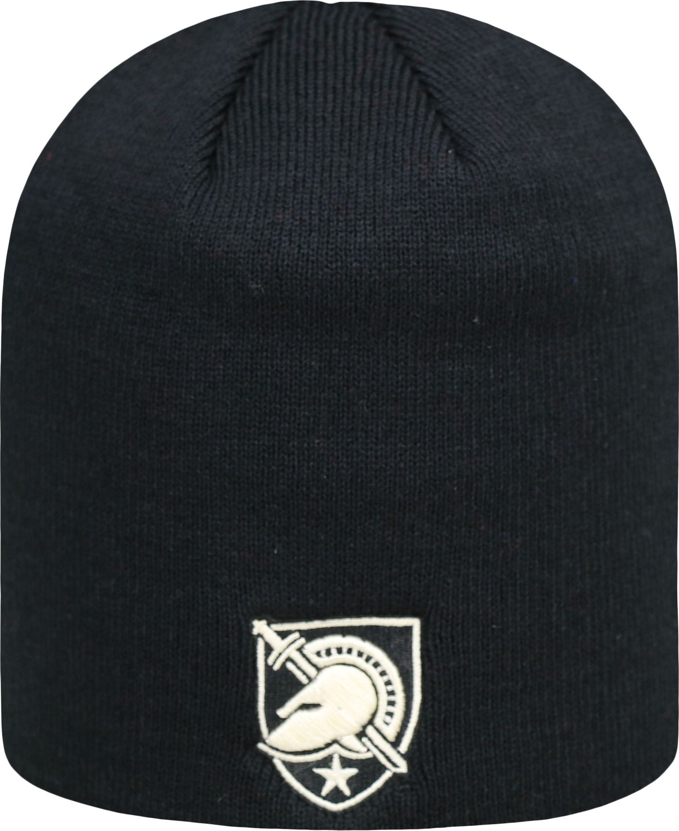 Top of the World Men's Army West Point Black Knights Army Black TOW Classic Knit Beanie