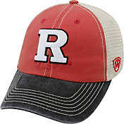 Top of the World Men's Rutgers Scarlet Knights Scarlet/White/Black Off Road Adjustable Hat
